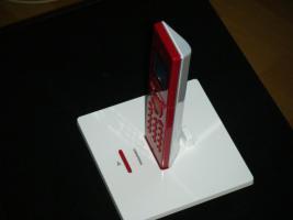 Foto 4 Schnurloses Festnetztelefon super Design Grundig illion lite Red