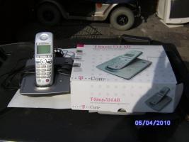 Schnurloses Telefon  T- Sinus 514 AB