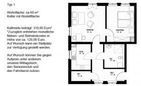Schöne 2-Raum-Wohnung in Torgau Nordwest