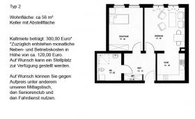 Foto 2 Schöne 2-Raum-Wohnung in Torgau Nordwest