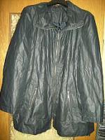 Schöne Damen Jacke für den Herbst Gr. XXL (Gr. 48) dunkelblau - wie neu!