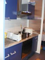 Foto 2 Schöne EBK blau mit Kühlschrank nwtg., Ofen, Herd, Dunstabzug Spüle 270 lang