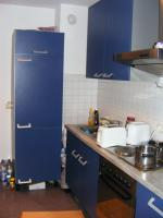 Foto 3 Schöne EBK blau mit Kühlschrank nwtg., Ofen, Herd, Dunstabzug Spüle 270 lang