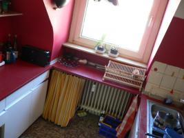 Foto 2 Schöne Einbauküche im 60er Jarhe Stilmit Spülmaschine, Spüle, Abzugshaube, Tisch!