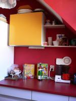 Foto 6 Schöne Einbauküche im 60er Jarhe Stilmit Spülmaschine, Spüle, Abzugshaube, Tisch!