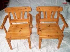 Foto 2 Schöne Fichte- Echtholz-Garnitur für Wohnküchen