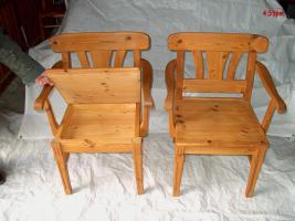 Foto 3 Schöne Fichte- Echtholz-Garnitur für Wohnküchen