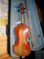 Foto 2 Schöne Französische 4x4 Geige aus Meisterwerkstadt 19 Jh.