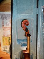 Foto 3 Schöne Französische 4x4 Geige aus Meisterwerkstadt 19 Jh.