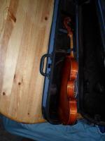 Foto 2 Schöne Französische 4x4 Geige aus Meisterwerkstadt 19 Jh