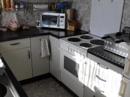 Schöne Küche mit E-Geräten  U-Form