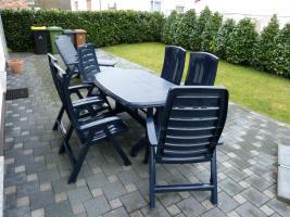 sch ne terrassenm bel g nstig abzugeben in hennef kunststoff. Black Bedroom Furniture Sets. Home Design Ideas