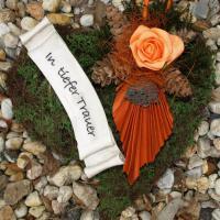 Foto 5 Schöne Trauer Artikel, aktuelle Grabdekoration online bestellen
