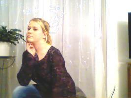 Foto 6 Schöne Tunika Schwarz mit Weiß/Lila Muster Fasst Wie Neu Von Blinddate GR.44