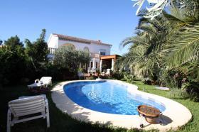 Schöne Villa in Denia an der Costa Blanca