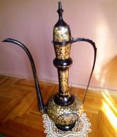 Schöne antike große Kupfer-Oil Can!