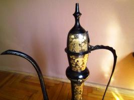 Foto 2 Schöne antike große Kupfer-Oil Can!