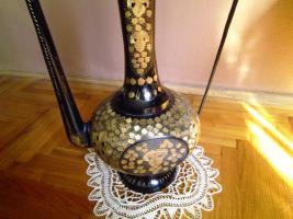 Foto 3 Schöne antike große Kupfer-Oil Can!