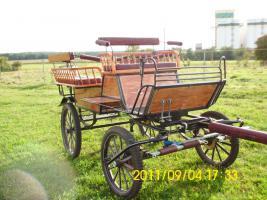 Sch�ne gepflegte Wagonette f�r 6 Personen zu verkaufen