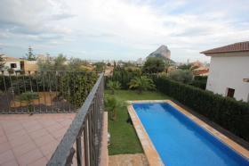 Foto 2 Schöne kürzlich gebaute Villa in Calpe an der Costa Blanca