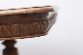 Foto 3 Schönen 200 Jahre alten Eichenesstisch, restauriert + 8 Stühle
