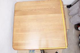 Foto 5 Schönen 200 Jahre alten Eichenesstisch, restauriert + 8 Stühle