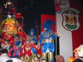 Foto 3 Schönen Blauen mit Golden Clown