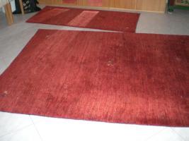 Sch�nen Tibeterteppich und Br�cke