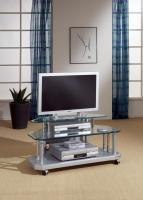 Schöner Glas TV Tisch mit Facettenschliff