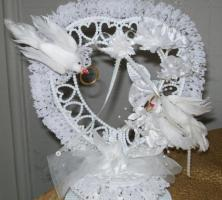Schöner Hochzeitstortenaufsatz NEU