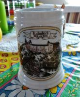 Schöner Kulmbacher Bierkrug