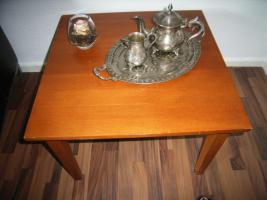 Schöner Tisch, Echthoz, Kirsche,62x62cm, 45cmH