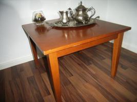 Foto 2 Schöner Tisch, Echthoz, Kirsche,62x62cm, 45cmH