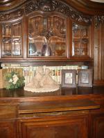 Schöner alter großer Wohnzimmerschrank (1929-1930)