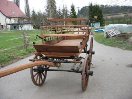 Foto 2 Schöner ungarischer Jagdwagen