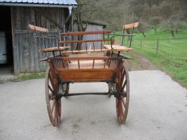 Foto 3 Schöner ungarischer Jagdwagen