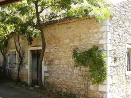Schönes Ecksteinhaus auf Korfu/Griechenland