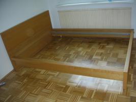 sch nes malm bett eiche in berndorf eiche doppelbett ehebett. Black Bedroom Furniture Sets. Home Design Ideas