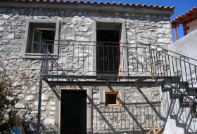 Schoenes Natursteinhaus auf Lesvos/Griechenland