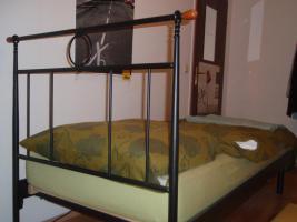 Schönes Nostalgie-Metallrahmenbett, 90x200, für 90€ zu verkaufen!