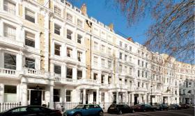 Schönes stilvolles Apartment mit zwei Schlafzimmern in London/Vereinigtes Königreich