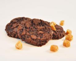 Schokolade-Karamell Cookies mmm.