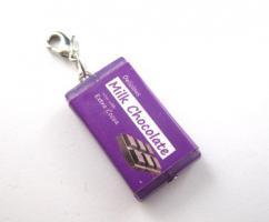 Schokoladen Tafel Anhänger / Charm