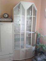 Foto 4 Schrankwand, Wohnzimmerschrank, Vitrine mit Beleuchtung