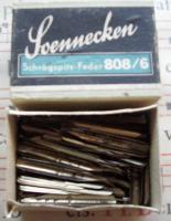 Schreibfedern Soennecken 808/6 25 Stück