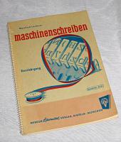 Schreibmaschinenschreiben, alte Anleitung