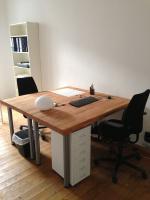 Schreibtisch-Arbeitsplatz Nähe Paul-Lincke-Ufer