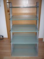 Schroers & Schroers HiFi-Rack Lambda, Silber/Mattglas