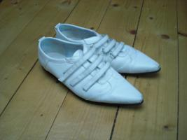 Foto 3 Schuhe Ballerinas Gr. 36 je 6€