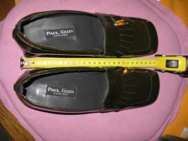 Schuhe, Pumps, Paul Green, echt Leder, Farbe Oliv, Gr. 7
